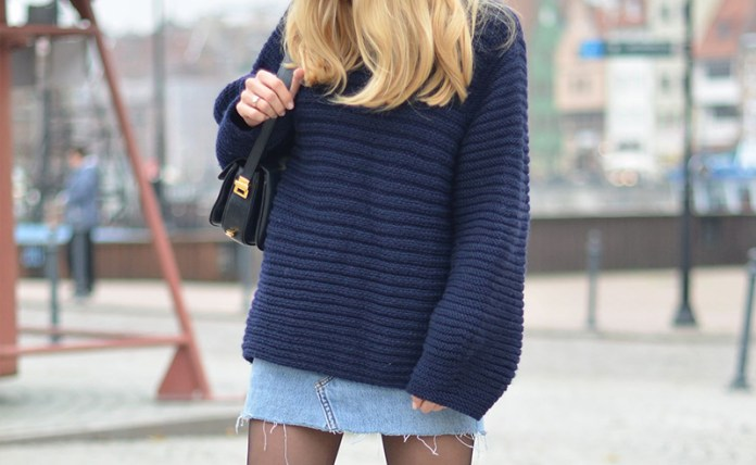 784c13379e Oversized sweater outfits are needed in fall. Knit sweaters