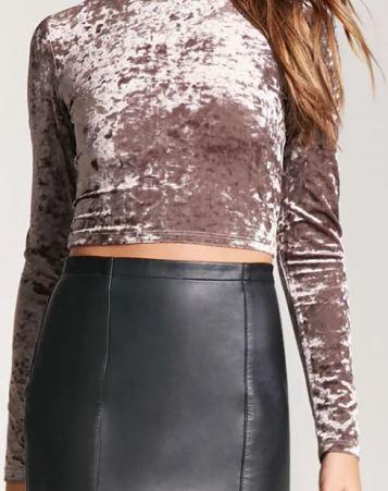 Crushed Velvet, 17 Cute Ways To Wear Crushed Velvet