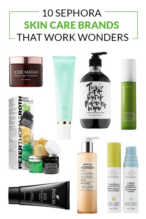 These Sephora skin care brands are amazing!