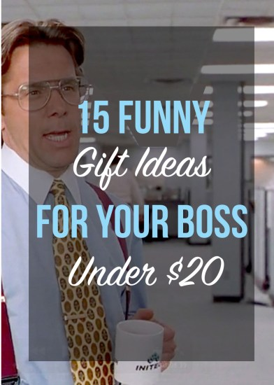 These are the best funny gift ideas for your boss that are all under 20 bucks!