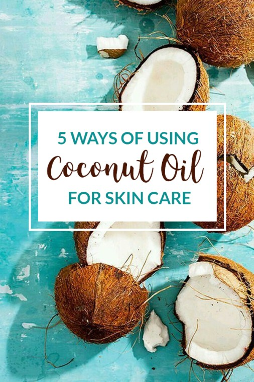 If you're looking to use coconut oil for skin care, here's some easy ways!
