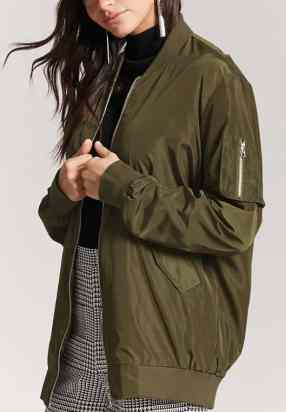 Bomber jackets are so cute for winter date night outfits!