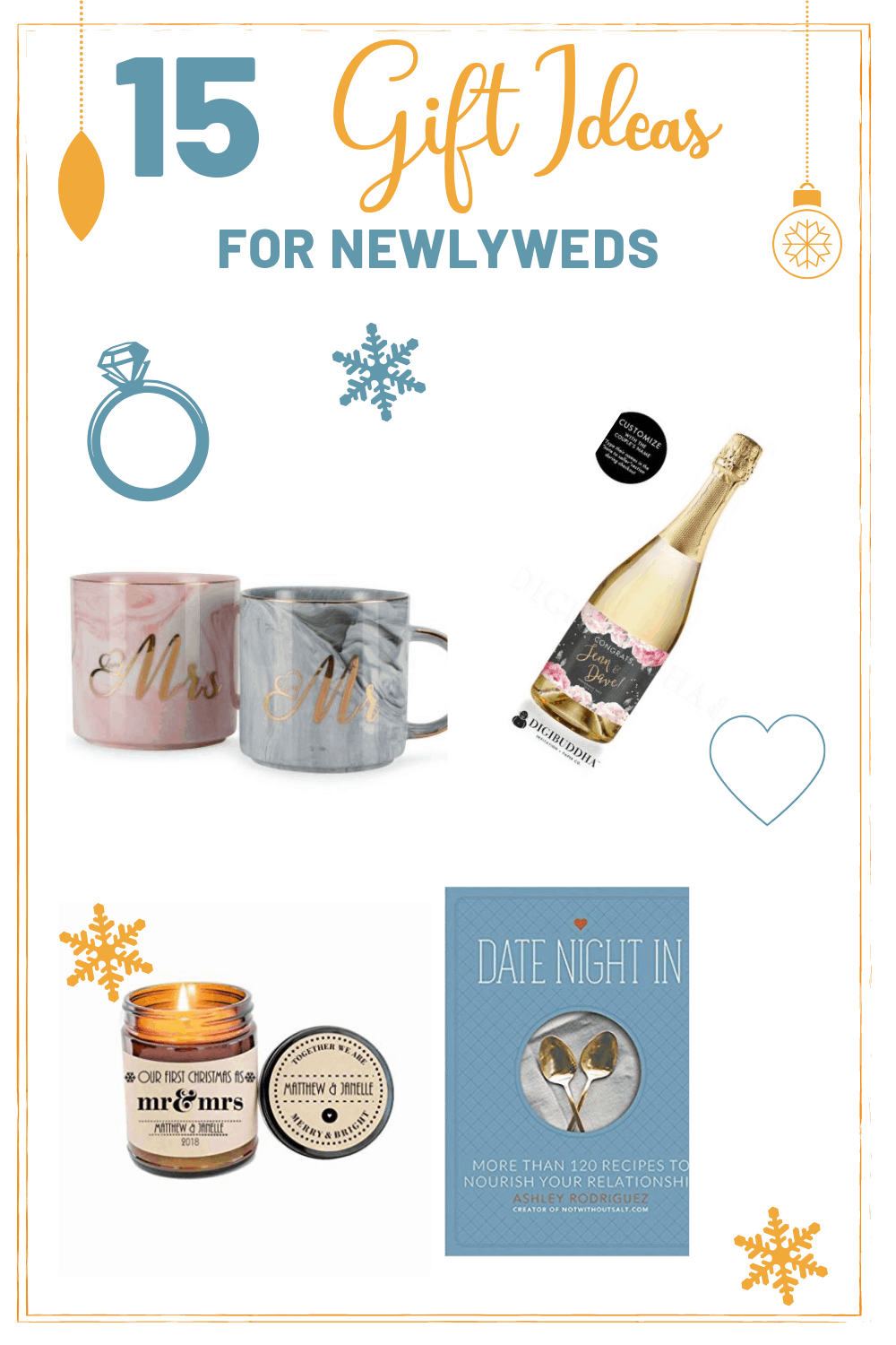 If you know a recently married couple then these his and hers presents are the  sc 1 st  Society19 & 15 Christmas Gift Ideas For Newlyweds - Society19