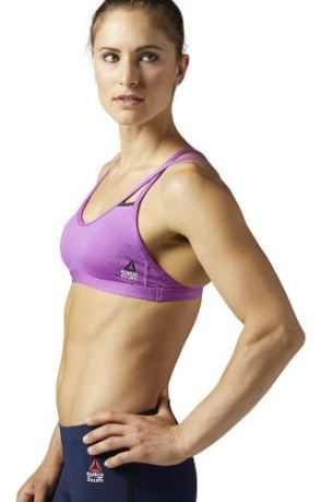 If you're trying to decide on what to wear to Crossfit, these sports bras are perfect!