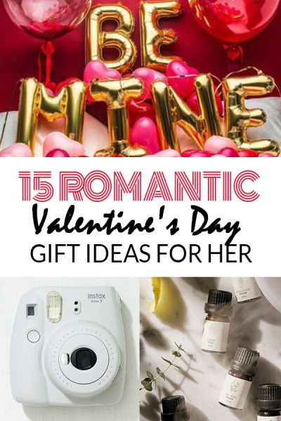 Romantic Valentine's Day gift ideas for her!