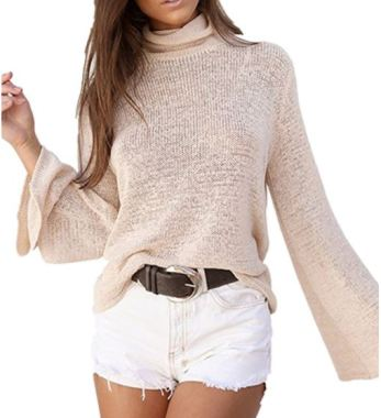 This makes for such a cute turtleneck outfit!
