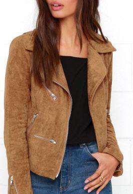 This suede vest is perfect with a turtleneck