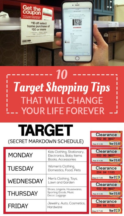 These are the best Target shopping tips that will change your life!