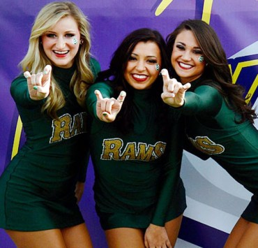 Get into your school spirit with these super cute game day outfits at Colorado State University. It's game day all the time, so you and your girlfriends need to look on point!