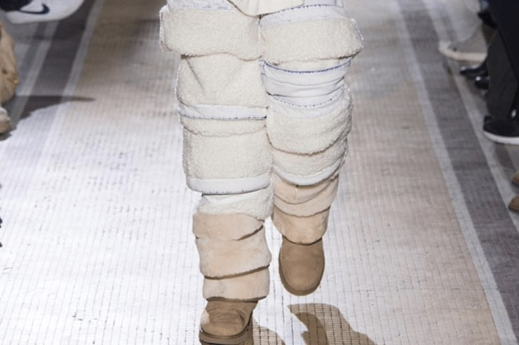 The fashion trend that has everyone talking is the new thigh high Ugg boots that hit the runway at Paris Fashion Week. These over the knee shoes are known for their comfort, coziness, and for straight up being ugly. But are they too ugly to get picked up?