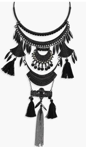 You need to get these cute boho statement necklaces immediately!