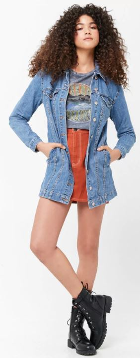 Wear these cute denim outfits for spring!
