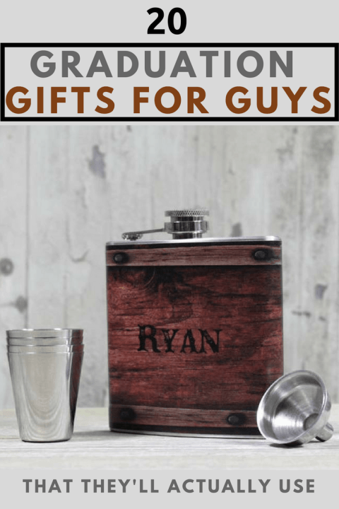 These are College Graduation Gift Ideas For Guys!
