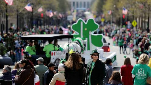 Raleigh is one of the most Irish cities in America