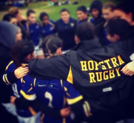 Rugby is a fun, and hardcore sport that is totally RECOMMENDED to join. You have to join the women's rugby team at Hofstra University.