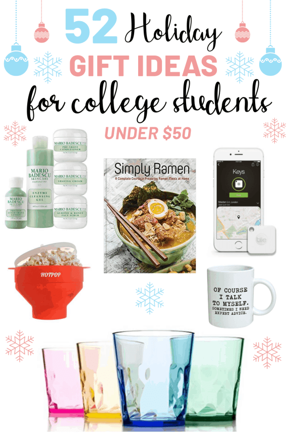 52 Gifts For College Students Under $50