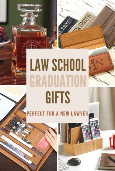 These Law school gift ideas are perfect for graduation!