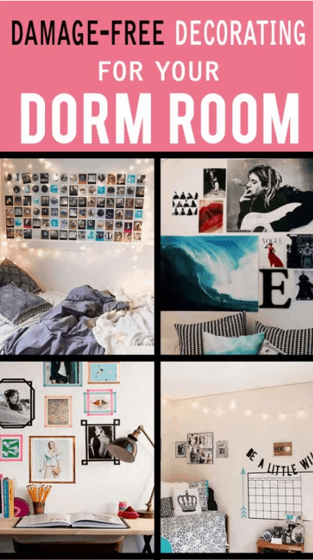 Check How To Decorate Your Dorm Walls Without Causing Damage
