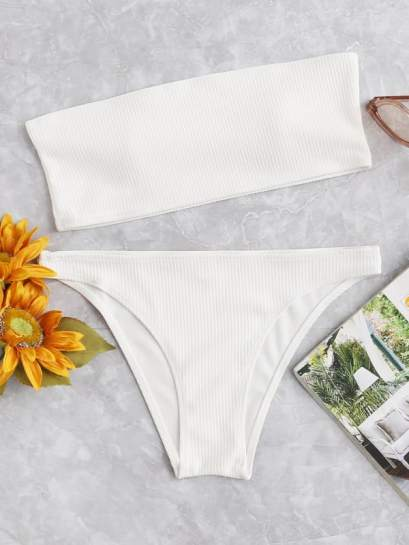 Check out these sexy white swimsuits!