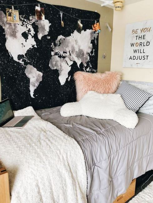 Cute dorm rooms and dorm decor ideas for college!