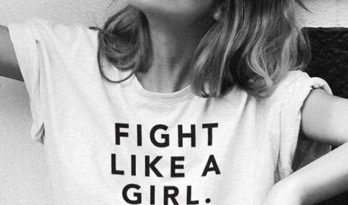 These girl power tees are very empowering and chic all at the same time. They can be dressed up or down. Try these with any bottoms and pair of shoes!