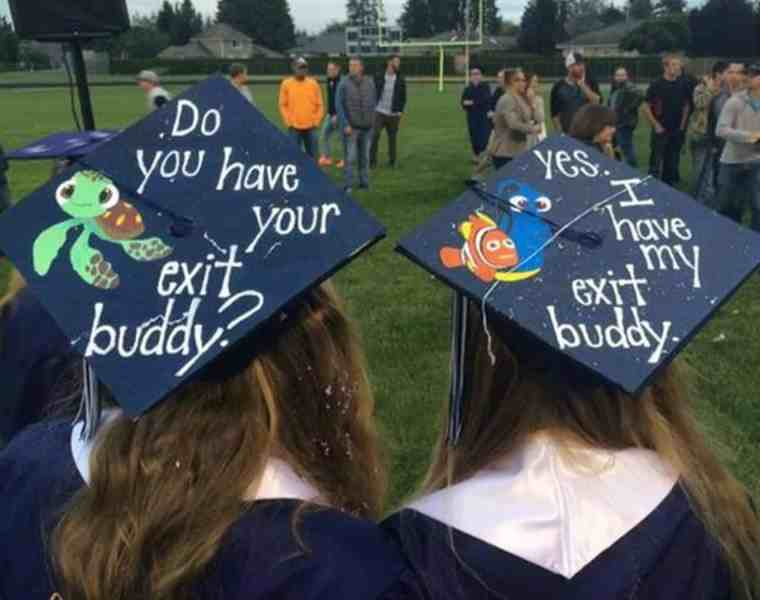 One of the biggest parts of graduating is the ability (in many cases) to decorate your cap. Many schools allow this, but double check to be sure that you are allowed. Check out these graduation cap ideas for some inspiration!