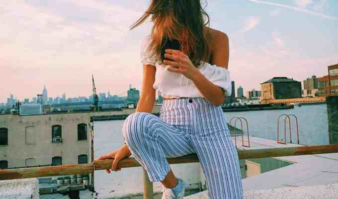 Not all summer nights are warm! These high waisted striped pants are beachy enough to still be worn in the summer and keep your legs comfortable at the same time! From wide-legged pants to boot cut, these are the striped pants you need for summer!