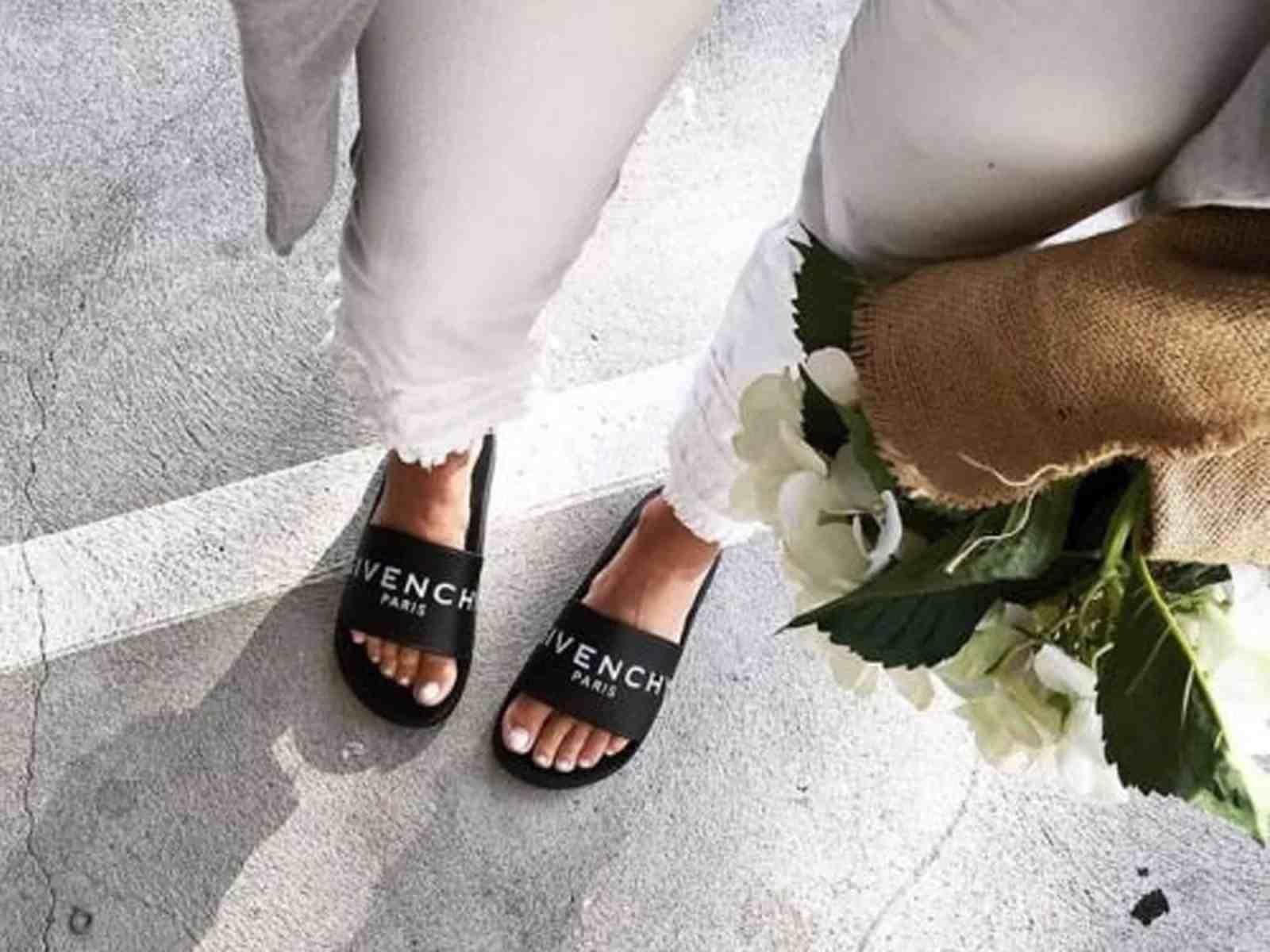 20 Ways To Wear Women's Slide Sandals This Summer - Society19