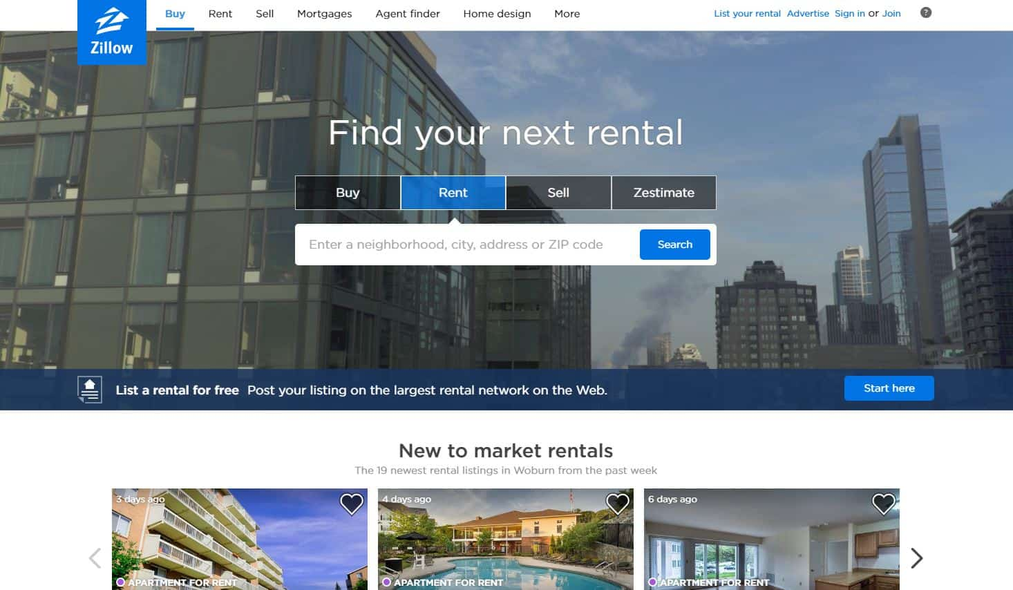 Zillow And Trulia Are Great Websites That Can Help You Find Your New Spot.  Craigslist Is Also Another And Is Where I Found My Great Apartment.