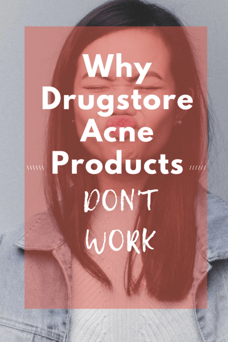 Here's Why Your Drugstore Acne Washes Aren't Working
