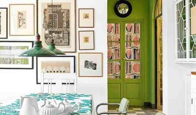 Here are some tips and tricks on how to choose your best accent wall in your space! It is all about which paint colors and patterns you decide on!