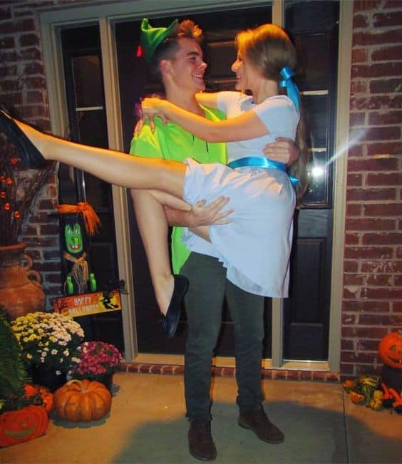 Peter Pan and Wendy Costume