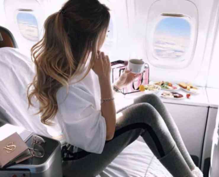 I was on a flight with a celeb while on a plane to Los Angeles. It was definitely interesting to see how they were treated.