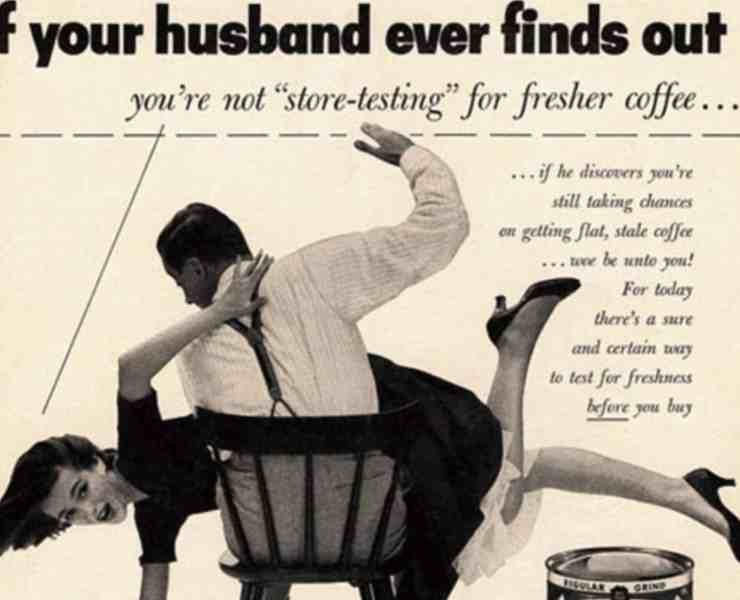 If you're into vintage, check out these edgy vintage ad campaigns that that would never be allowed in today's world, but are super unique.