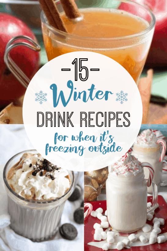 15 Winter Drink Recipes When It's Freezing Outside