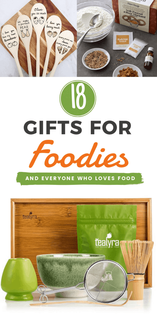 18 Gifts For Foodies and everyone who loves food