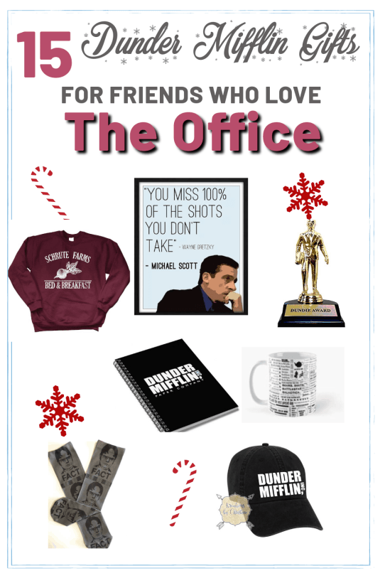 The Office gifts are the perfect thing to get for that one friend who can't stop quoting the show! Here are the best gifts for them!