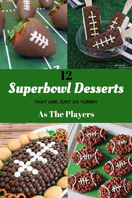 12 Super Bowl Desserts That Are Just As Yummy As The Players