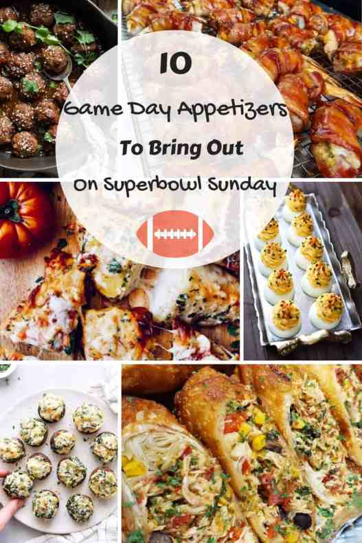 10 Game Day Appetizers To Bring Out On Super Bowl Sunday