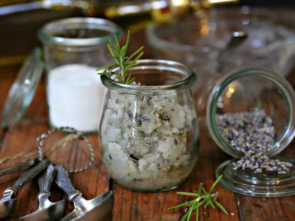 Instead of roaming around looking for a luxurious body scrub, you can easily make a similar one (or an even better one) in the comfort of your home using a few, simple kitchen ingredients.