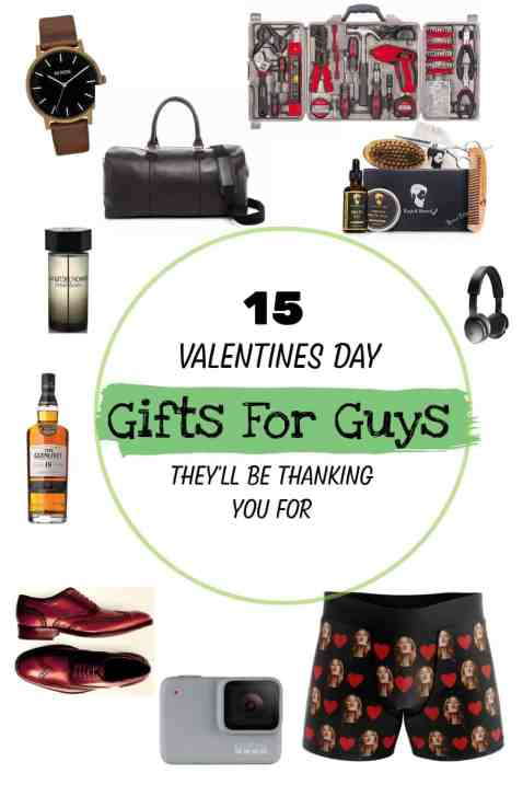 15 Valentine's Day Gifts For Guys They'll Be Thanking You For