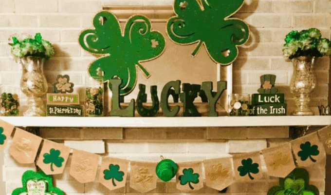 St. Patrick's Day DIY Decor Ideas are full of green, gold, shamrocks, and leprechauns. Here are some ways to incorporate these elements into your holiday decorations.