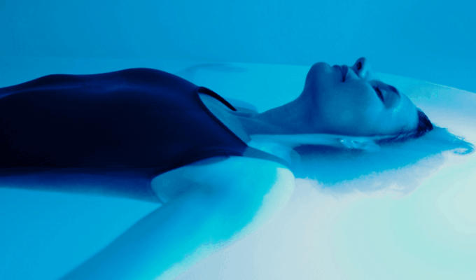 Have you ever tried a sensory deprivation tank? It's not always a peaceful experience, especially when you get trapped inside.