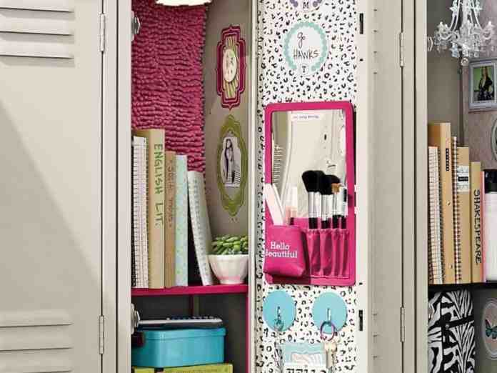 New Year! New Locker Decorations! Check out all the glam you can have inside your locked this school year.