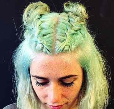 Braided space buns are a new hairstyle trend that is all over the internet. Here are some of the best versions to try!