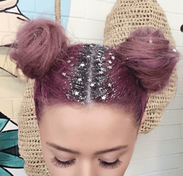 Glitter Roots: The Hair Color Trend Perfect For Pride