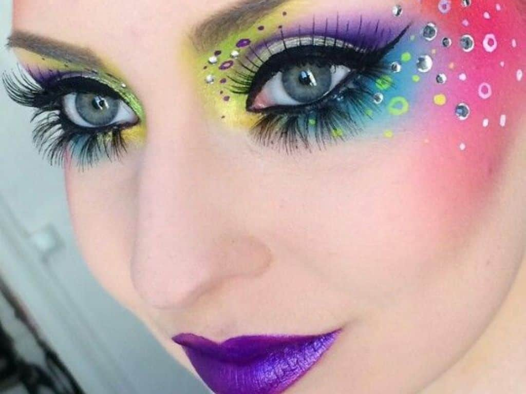 The Best Glitter Makeup You Need For Pride Month