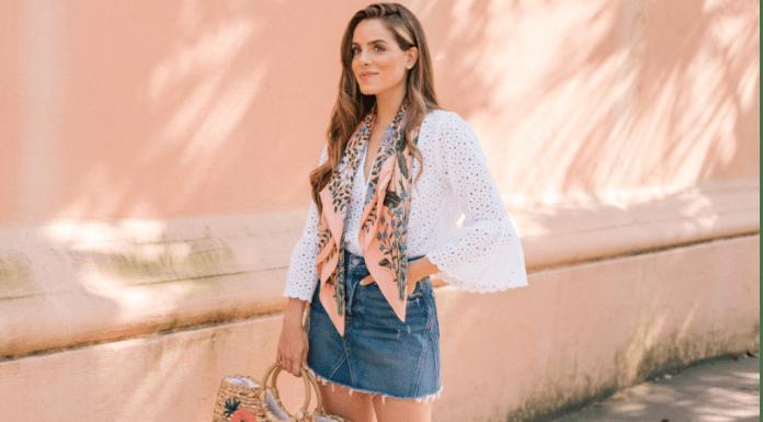 10 Ways To Wear A Denim Skirt This Summer