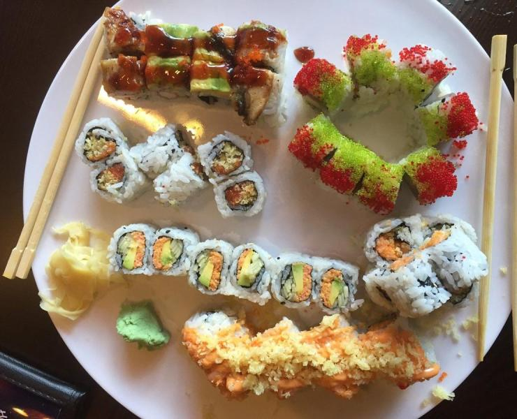 5 Vegan Sushi Rolls You Should Try