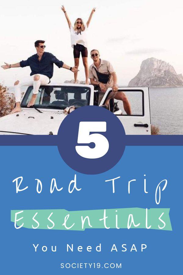 Road Trip Essentials, 5 Road Trip Essentials You Need ASAP